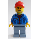 LEGO Male Dune Buggy Driver Minifigure