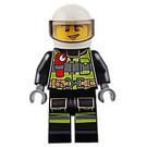 LEGO Male Fire Fighter Minifigure