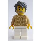 LEGO Male in Tan Sweater Minifigure