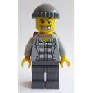LEGO Male Prisoner with Backpack Minifigure