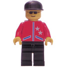 LEGO Male Red Jacket Town Minifigure
