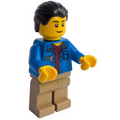 LEGO Male Train Passenger Minifigure