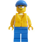 LEGO Male Wind Surfer with Life Jacket Minifigure