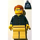 LEGO Male with Buttoned Shirt Alpharetta Minifigure