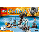 LEGO Mammoth's Frozen Stronghold Set 70226 Instructions