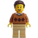 LEGO Man in Argyle Sweater Minifigure