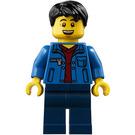 LEGO Man in Blue Jacket Minifigure