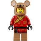 LEGO Man in Chinese Rat Costume Minifigure