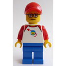 LEGO Man in Hat and Space T-Shirt Figurine