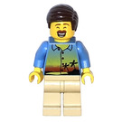 LEGO Man in Hawaiian Shirt Minifigure