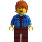 LEGO Man in Jean Jacket Minifigure