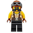 LEGO Man in Muscle Shirt and Suspenders Minifigure