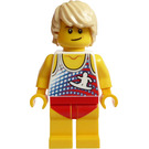 LEGO Man in Swimsuit and Tanktop Minifigure