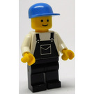LEGO Man with Black Overalls Minifigure