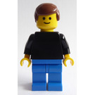 LEGO Man with Black Shirt Minifigure
