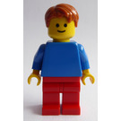 LEGO Man with Blue Shirt Minifigure