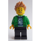 LEGO Man with Green Jacket Minifigure