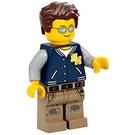 LEGO Man with Letterman Jacket Minifigure