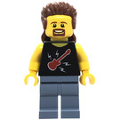 LEGO Man with Mullet Minifigure