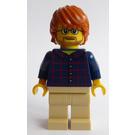 LEGO Man with Plaid Shirt Minifigure