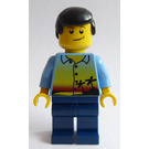 LEGO Man with Sunset and Palms Minifigure