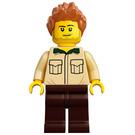 LEGO Man with Tan Shirt Minifigure