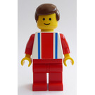 LEGO Man with Vertical Striped Top Minifigure