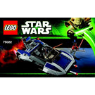 LEGO Mandalorian Speeder Set 75022 Instructions