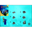 LEGO Manta Warrior Set 8073 Instructions