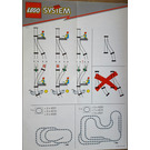 LEGO Manual Points with Track Set 4531 Instructions