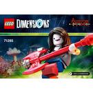 LEGO Marceline the Vampire Queen Set 71285 Instructions