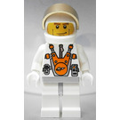 LEGO Mars Mission Astronaut with Helmet and Cheek Lines Minifigure
