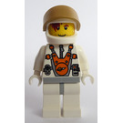 LEGO Mars Mission Astronaut with Helmet and Hair Over Eye Minifigure