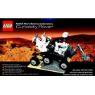 LEGO Mars Science Laboratory Curiosity Rover Set 21104 Instructions
