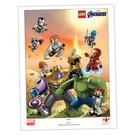 LEGO Marvel Super Heroes Poster - Avengers Endgame (5005881)