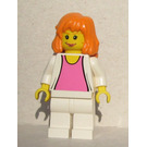 LEGO Mary Jane with White Jacket Minifigure