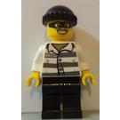 LEGO Masked burglar 86753 torso, black cap and legs Minifigure