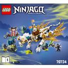 LEGO Master Wu Dragon Set 70734 Instructions