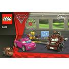 LEGO Mater's Spy Zone Set 8424 Instructions