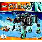 LEGO Maula's Ice Mammoth Stomper Set 70145 Instructions