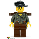 LEGO Max Villano with Backpack Minifigure