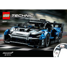 LEGO McLaren Senna GTR Set 42123 Instructions