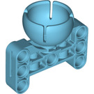 LEGO Medium Azure Beam 3 x 5 with Dia. 19 Wheel Cup (39370)