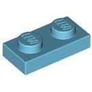LEGO Medium Azure Plate 1 x 2 (3023)