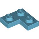 LEGO Medium Azure Plate 2 x 2 Corner (2420)
