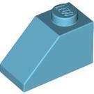 LEGO Medium Azure Slope 1 x 2 (45°) (3040)