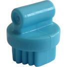 LEGO Medium Azure Small Round Grooming Brush (92355)