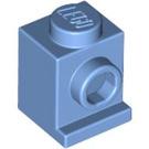 LEGO Medium Blue Brick 1 x 1 with Headlight and No Slot (4070)