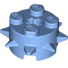 LEGO Medium Blue Design Brick 2 x 2 x 1 Circle with Spikes (27266)