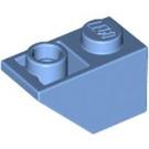 LEGO Medium Blue Slope 1 x 2 (45°) Inverted (3665)